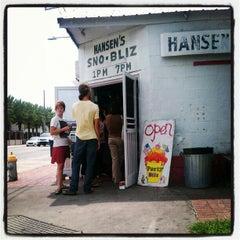 Photo taken at Hansen's Sno-Bliz by Dominique E. on 6/22/2012