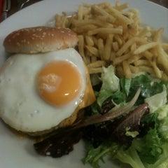 Photo taken at Café du Commerce by Ibrahim B. on 5/18/2012