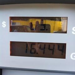 Photo taken at Chevron by Chris C. on 8/9/2012