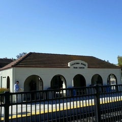 Photo taken at California Ave Caltrain Station by Yusuke K. on 10/18/2011