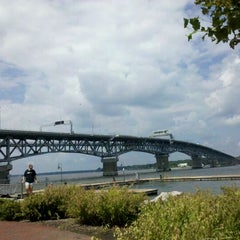 Photo taken at Riverwalk Landing by Anna F. on 8/16/2011