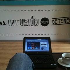 Photo taken at Urban Tea Shop by Karim R. on 4/16/2012