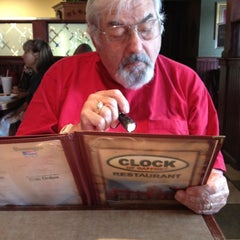 Photo taken at Clock of Gaffney by Joey C. on 4/3/2012