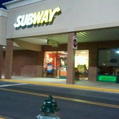 Photo taken at Subway by Jennifer P. on 2/13/2012