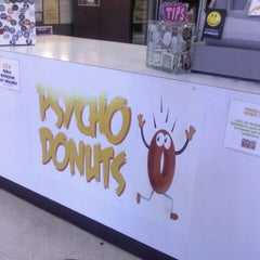 Photo taken at Psycho Donuts by amy F. on 6/12/2012
