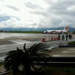 Photo taken at Aeropuerto Comandante FAP Guillermo del Castillo Paredes (TPP) by Luis G. on 6/7/2012