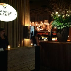 Photo taken at Marble Lane at Dream Downtown by Oliver R. on 5/21/2012