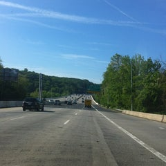 Photo taken at American Legion Memorial Bridge by Herb L. on 4/29/2012