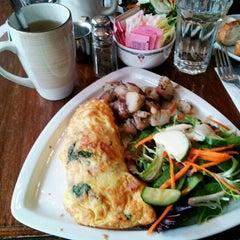 Photo taken at Angelina Cafe by Deborah K. on 3/8/2012