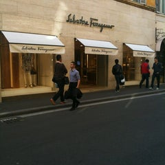 Photo taken at Salvatore Ferragamo by Stefano C. on 5/9/2012