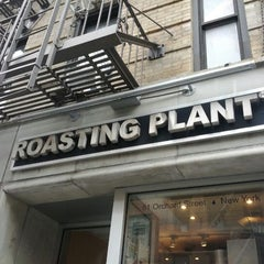 Photo taken at Roasting Plant Coffee by Ben B. on 5/5/2012