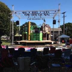 Photo taken at Prescott Park by Walter E. on 7/21/2012