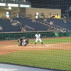 Photo taken at Medlar Field at Lubrano Park by Elliot on 9/5/2012
