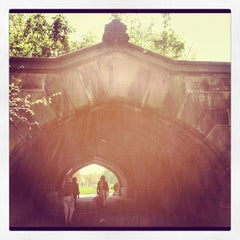 Photo taken at Endale Arch - Prospect Park by Yissel on 4/21/2012