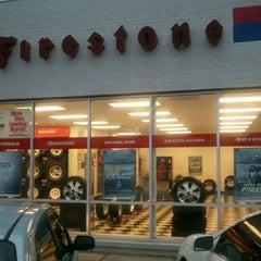Photo taken at Firestone by Gabriella S. on 2/28/2012