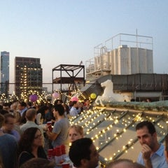 Photo taken at The Barbarian Group: Roof Deck by Meaghan B. on 8/23/2012