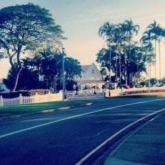 Photo taken at Darwin Government House by T K. on 8/24/2012