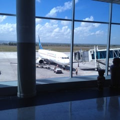 Photo taken at Lombok International Airport (LOP) by K. J. on 8/1/2012
