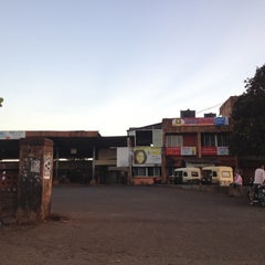 Photo taken at Devgad S.T. Bus Stand by Umesh G. on 3/8/2012