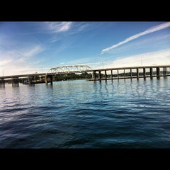 Photo taken at Evergreen Point Floating Bridge by Jason A. on 6/27/2012