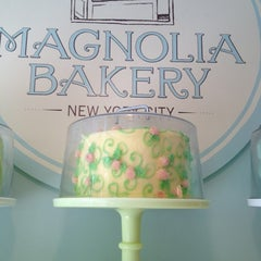 Photo taken at Magnolia Bakery by Katie W. on 6/20/2012