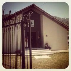 Photo taken at Iglesia Peñas by Okthavio P. on 3/3/2012