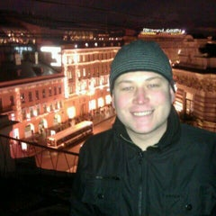 Photo taken at Крыша на Невском by Yaroslav L. on 11/19/2011