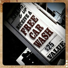 Photo taken at High Street Car Wash by Sally on 9/27/2011