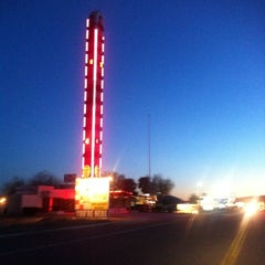 Photo taken at World's Tallest Thermometer by Edward O. on 4/2/2011