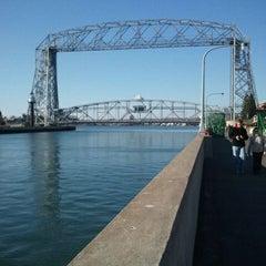 Photo taken at Duluth Lift Bridge by Darla T. on 10/22/2011