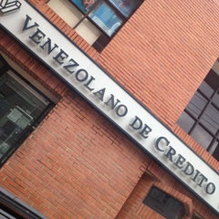 Photo taken at Banco Venezolano de Crédito by German Andres J. on 5/17/2012