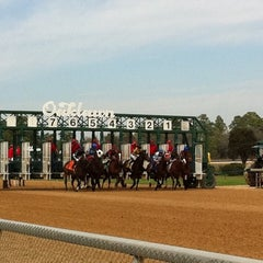 Photo taken at Oaklawn Racing & Gaming by Alex F. on 3/11/2011
