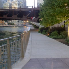 Photo taken at Chicago Riverwalk by Andrew W. on 7/16/2012