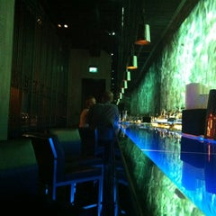 Photo taken at Hakkasan by Constantinos A. on 8/4/2012