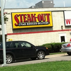 """Photo taken at Steak-Out by """"Frosty"""" Gregg F. on 7/11/2011"""