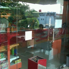 Photo taken at Bright Food and Drink 24 Hours, SPBU Pertamina by Nyimas ◕. on 9/2/2011