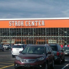Photo taken at Stroh Center by 🔊 Kay M. on 3/18/2012