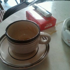 Photo taken at Cafe Le Baron by Hmid J. on 3/16/2012