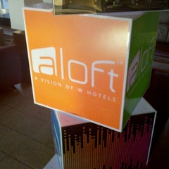 Photo taken at Aloft Lexington by Jonathan Harris S. on 9/30/2011