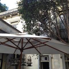 Photo taken at Iate Clube de Santos by Tassio L. on 5/27/2012