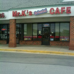 Photo taken at Mr. K's Chinese Cafe by robin g. on 12/27/2010