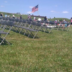 Photo taken at Fort McHenry National Monument and Historic Shrine by Kirsten E. on 6/16/2012