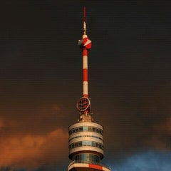 Photo taken at Donauturm by Martin H. on 4/13/2011