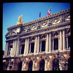 Photo taken at Opéra Garnier by Irina I. on 7/24/2012
