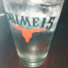 Photo taken at Prime 15 Steakhouse & Grill by Kaitlyn A. on 4/28/2012