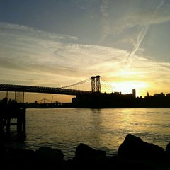 Photo taken at Grand Ferry Park by Ted P. on 2/27/2011