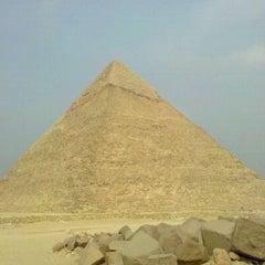 Photo taken at Great Sphinx of Giza | تمثال أبو الهول by Rag on 1/20/2011