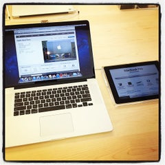 Photo taken at Apple Store, The Domain by @benfinklea on 6/14/2012