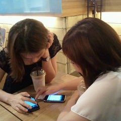 Photo taken at zicaffe by 송이 차. on 8/12/2011