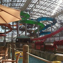 Photo taken at Jay Peak Pump House Waterpark by Chesley A. on 3/19/2012